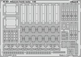 EDUARD Lepty 1/48 SET  Albacore bomb racks for TRUMP