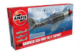 AIRFIX 1/48 Hawker Sea Fury FB.11 Export Edition