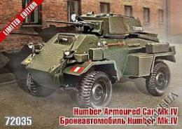 ZEBRANO 1/72 Daimler Armored Car Mk.IV