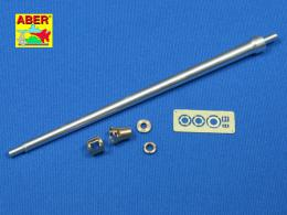 ABER 1/35 35L-036N German 7,5cmKwK42L/70 gun barrel with muzzle brake for Panther Ausf. G Late or Panther II prototype