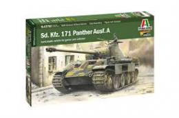 ITALERI 1/56 WWII Pz.Kpfw V Panther Ausf. A w/Crew