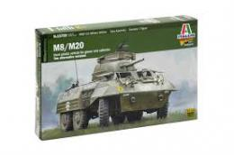 ITALERI 1/56 WWII M8/M20 Greyhound