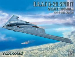 MODELCOLLECT 1/72 U.S.A.F B-2A Spirit Stealth Bomber with Mop GBU-57