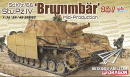 DRAGON 1/35 Brummbar Mid-Production (2 in 1)