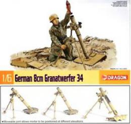 DRAGON 1/6 German 8cm Granatwerfer 34