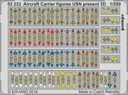 EDUARD SET 1/350 Aircraft Carrier figures USN present 3Dá