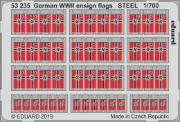 EDUARD SET 1/700 German WWII ensign flags STEEL