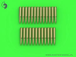 MASTER-PL 1/16 M1919 Browning .30 cal cartridges (25 pcs.)