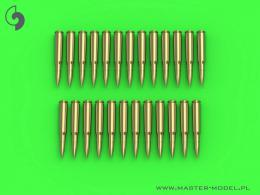 MASTER-PL 1/16 M1919 Browning .50 cal cartridges (25 pcs.)