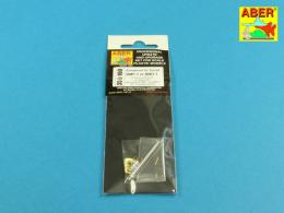 ABER 1/35 35L-160 Armament for Soviet BMP-1 or BMD-1 1x73mm 2A28 Grom 1x762mm PKT