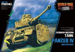 MENG WWT-013 German World War Toons Panzer IV