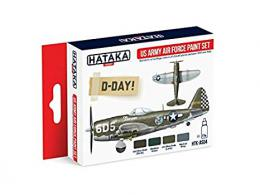 HATAKA Red Set AS04.2 US Army Air Force  paint set