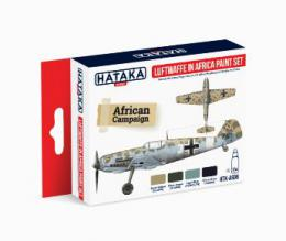 HATAKA Red Set AS06.2 Luftwaffe in Africa paint set