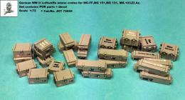 JK RESIN 1/72  German WWII Luftwaffe ammo boxes