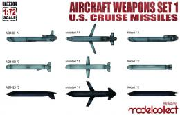 MODELCOLLECT 1/72 Aircraft weapons set1 U.S.cruise missiles