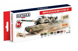 HATAKA Red Set  AS108 Modern Australian Army AFV paint set