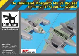 BLACKDOG 1/72 de Havilland Mosquito  FB.Mk.VI BIG SET for TAM