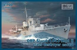 IBG 1/700 ORP Œl¹zak Mod.1943 Hunt II class destroyer escort