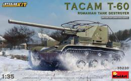 MINIART 1/35 Tacam-T-60 Romanian tank destroyer w/interior