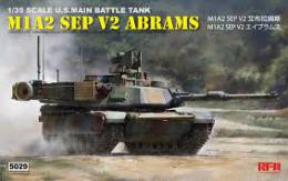 RYE FIELD 1/35 M1A2 SEP Abrams TUSK I/II 3 in 1