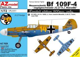 AZ MODEL 1/72 Bf-109F Marselle Special
