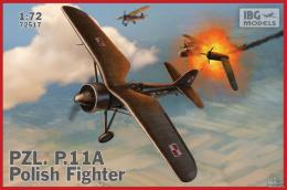 IBG 1/72 PZL P.11a Polish Fighter Plane
