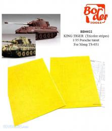 BORDER MODEL BD0022 King Tiger (Tricolor stripes)