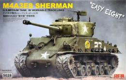 RYE FIELD  1/35 M4A3E8 Sherman Easy Eight w/ workable Track & Torsion