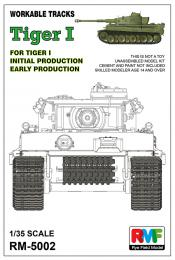 RYE FIELD 1/35 Workable Tracks For Tiger I Early Production