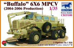BRONCO 1/35 Buffalo 6x6 MPCV (2004-2006 Production)