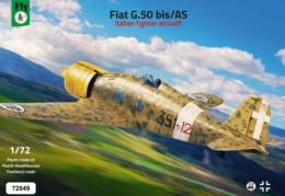 FLY 1/72 1/72 Fiat G.50 bis/AS Italian fighter (4x camo)