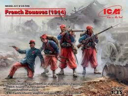 ICM 1/35 French Zouaves (1914)