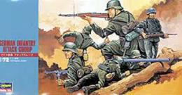 HASEGAWA 1/72 German Infantry Attack Group