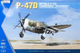 KINETIC 1/24 P-47D Thunderbolt Razorback