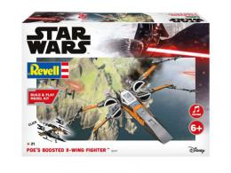 REVELL STAR WARS 1/72 Poe's Boosted X-wing Fighter Sound Set