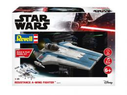 REVELL STAR WARS 1/40 Resistance A-wing Fighter Blue Sound Set