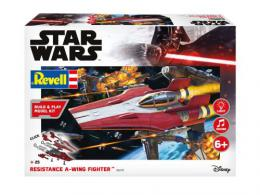 REVELL STAR WARS 1/44 Resistance A-wing Fighter, red Sound Set