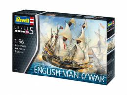 REVELL 1/96 English Man O'War