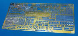 HASEGAWA 1/350 Etching Parts for USS Gambier Bay