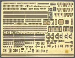 HASEGAWA 1/350  Japanese Navy Ship General Photo-etched Parts