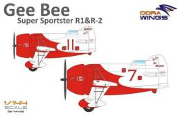 DORA WINGS 1/144 Gee Bee Super Sportster R1&R2 (2-in-1)