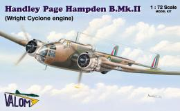 VALOM 1/72 Handley Page Hampden B.Mk.II (Wright Cyclone)