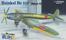 VALOM 1/72 Heinkel He 119 (What If)