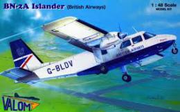 VALOM 1/48 Britten-Norman BN-2A Islander (Brit.Airways)