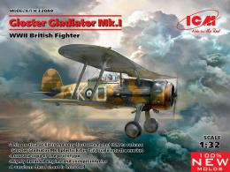 ICM 1/32 Gloster Gladiator Mk.I British WWII Fighter