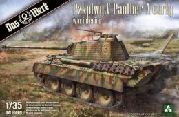 DAS WERK 1/35 Pzkpfwg. V Panther Ausf.A Early