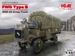 ICM 1/35 WWI USA Army Truck FWD Type B