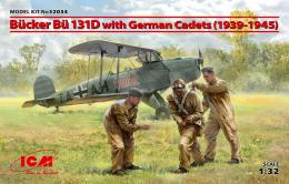 ICM 1/32 1/32 Bücker Bu- 131D w/ German Cadets 1939-45