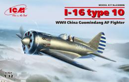 ICM 1/32 I-16 type 10 China Guomindang AF Fighter WWII