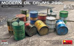 MINIART 1/35 Modern Oil Drums 200L